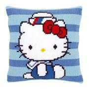 Vervaco Hello Kitty Marine Cushion Cross Stitch