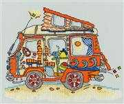 Bothy Threads Sew Dinky VW Van Cross Stitch Kit