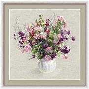 RIOLIS Summer Bouquet Cross Stitch Kit