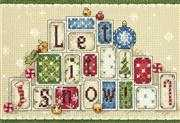 Dimensions Let it Snow Christmas Cross Stitch Kit