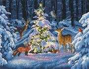 Dimensions Woodland Glow Cross Stitch Kit