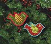 Jolly Bird Ornaments - Dimensions Cross Stitch Kit