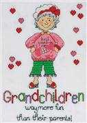 Grandchildren - Design Works Crafts Cross Stitch Kit