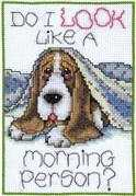 Morning Dog - Design Works Crafts Cross Stitch Kit