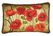 RIOLIS Oriental Poppies Cushion Cross Stitch Kit
