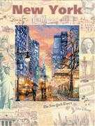 RIOLIS New York Cross Stitch Kit