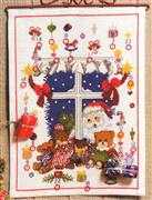Christmas Window Advent - Danish Design by OOE Cross Stitch Kit
