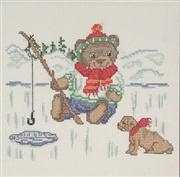 Ice Fishing - Danish Design by OOE Cross Stitch Kit
