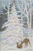 Winter Woodland - Aida - Danish Design by OOE Cross Stitch Kit