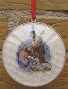 Nativity Bauble - Danish Design by OOE Cross Stitch Kit