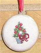 Danish Design by OOE Christmas Tree Bauble Cross Stitch Kit