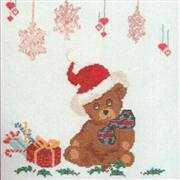 Danish Design by OOE Teddy and Presents Cross Stitch Kit