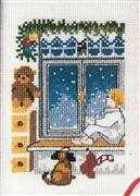 Waiting for Santa - Danish Design by OOE Cross Stitch Kit