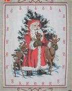 Danish Design by OOE Woodland Santa Advent Cross Stitch Kit