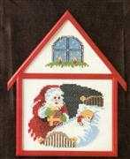 Delivering Gifts - Danish Design by OOE Cross Stitch Kit