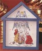 Shepherds and Angels - Danish Design by OOE Cross Stitch Kit