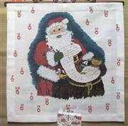 Danish Design by OOE Santa's List Advent Cross Stitch Kit