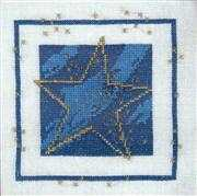 Christmas Star - Aida - Danish Design by OOE Cross Stitch Kit