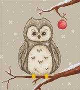 Luca-S Owl Cross Stitch Kit