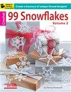 Crochet Books 99 Snowflakes Vol 2 Christmas Book