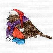 Robin Mini Kit - DMC Cross Stitch Kit
