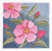 Derwentwater Designs Camelias Long Stitch Kit