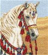 Anchor Arabian Horse Cross Stitch Kit