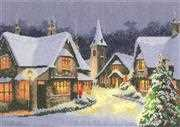 Christmas Village - Evenweave - Heritage Cross Stitch Kit