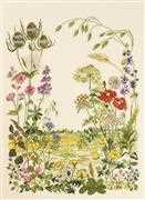 Summer Meadow - Permin Cross Stitch Kit