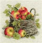 RIOLIS Ripe Apples Cross Stitch Kit