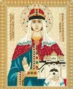 RIOLIS St Anna of Novgorod Cross Stitch Kit