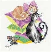 RIOLIS Cats and Mice Cross Stitch Kit
