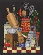 Janlynn Kitchen Still Life Cross Stitch