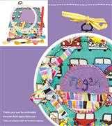 Hoop It Junior - Camper Van - DMC Embroidery Kit