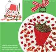 Hoop It - Strawberry - DMC Embroidery Kit