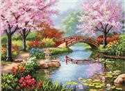 Dimensions Japanese Garden Cross Stitch Kit