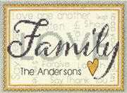 Dimensions Family Cross Stitch Kit