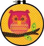 Owl - Dimensions Embroidery Kit