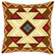Vervaco Geometric Design 20 Cross Stitch Kit