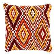 Ethnic Motif Cushion - Vervaco Cross Stitch Kit