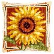 Vervaco Sunflower Cushion Cross Stitch Kit