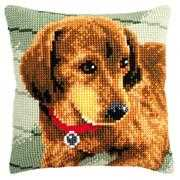 Dachshund Cushion - Vervaco Cross Stitch Kit