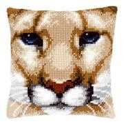 Puma Cushion - Vervaco Cross Stitch Kit