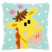 Baby Giraffe Cushion - Vervaco Cross Stitch Kit