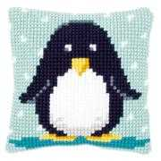 Baby Penguin Cushion - Vervaco Cross Stitch Kit