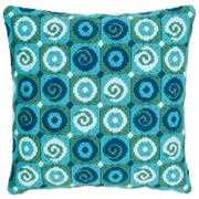 Swirls Cushion - Vervaco Long Stitch Kit