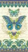Dimensions Peacock Butterflies Cross Stitch Kit