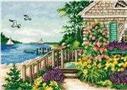 Bayside Cottage - Dimensions Cross Stitch Kit