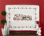 Anette Eriksson Merry Christmas Blanket Cross Stitch Kit