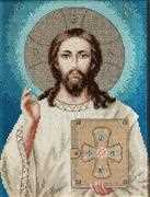 Luca-S Jesus Christ Cross Stitch Kit